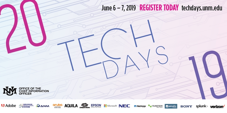 Tech Days - Registration Open - Social Media