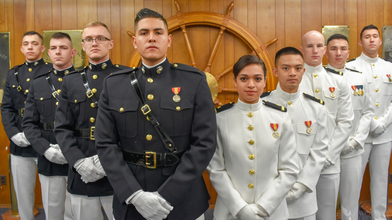Newly commissioned officers