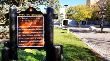 Historic Markers on UNM's campus celebrate New Mexico women