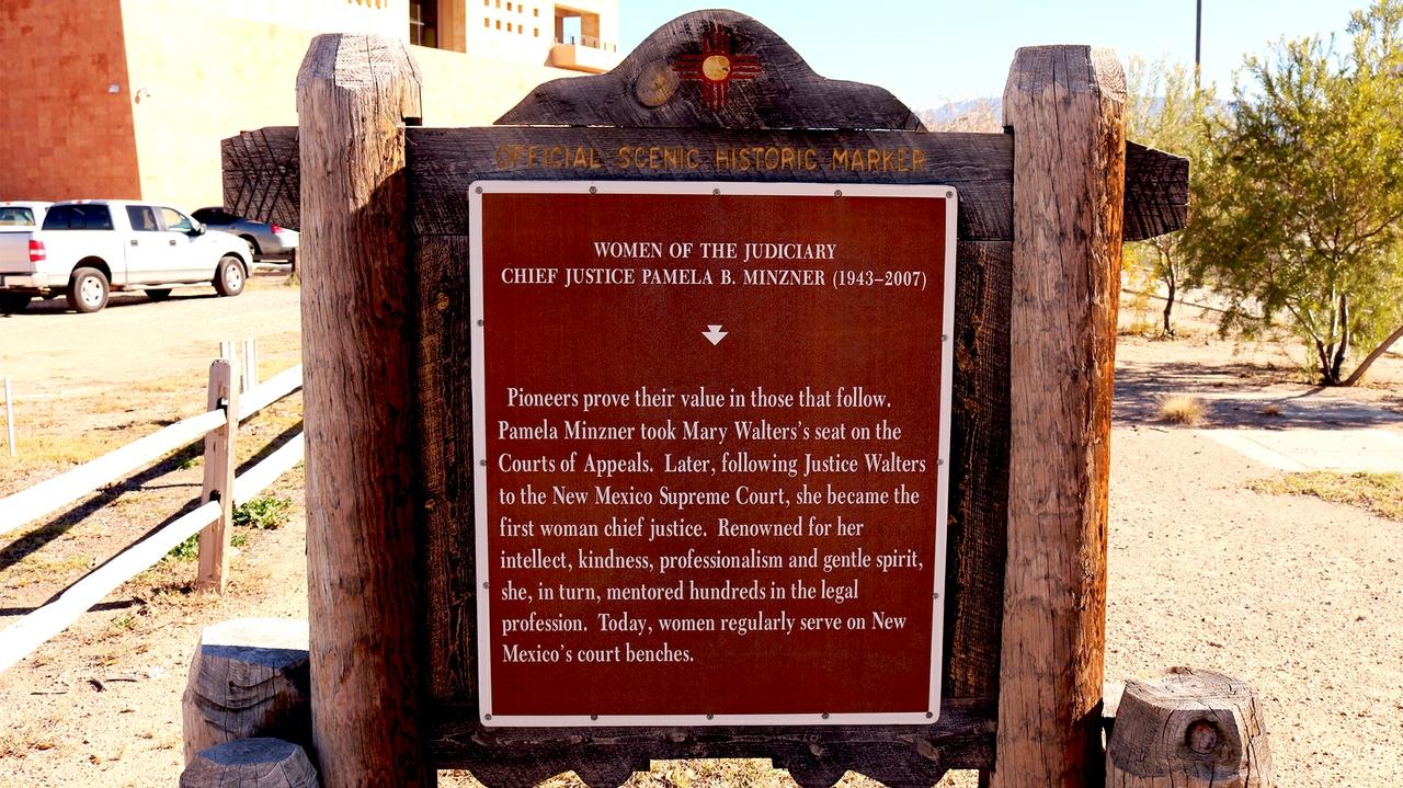 Minzner Historic Marker