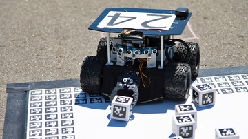Swarmathon covers Smith Plaza with robots