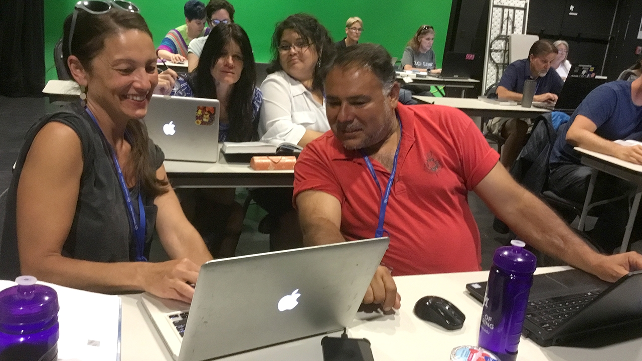 Teachers taking coding skills from UNM workshop back to classrooms
