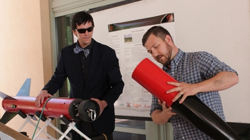 UNM's Lobo Launch team to make debut at rocket contest at Spaceport America