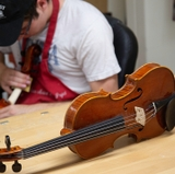 Class teaches the traditional art of making violins