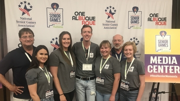 Communication & Journalism interns shine at National Senior Games