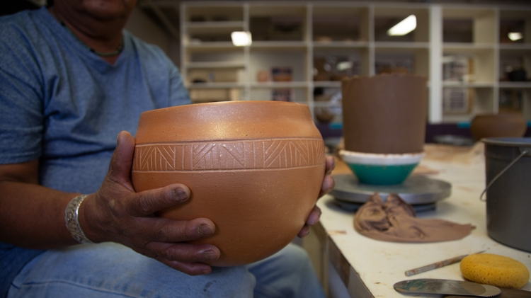 Micaceous clay