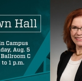 Summer town hall set for staff