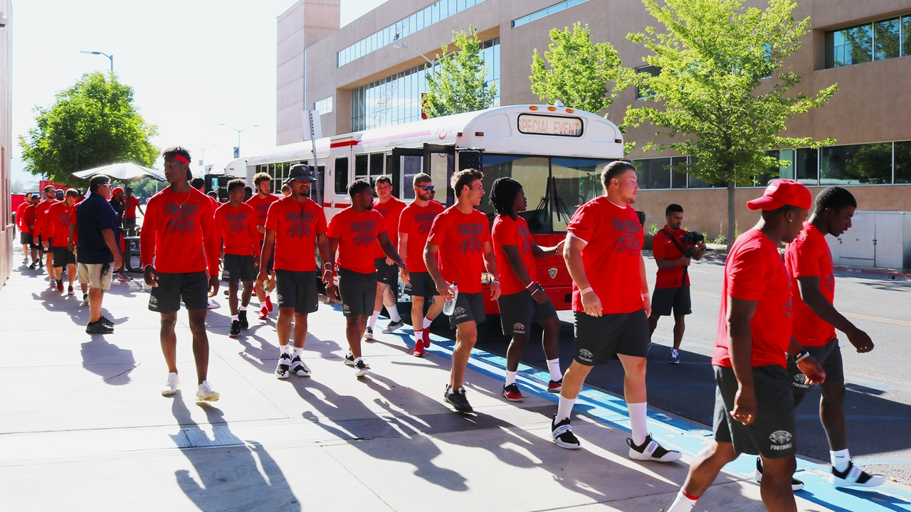 The UNM Lobo football team