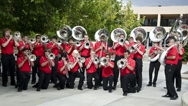 The UNM Marching Band