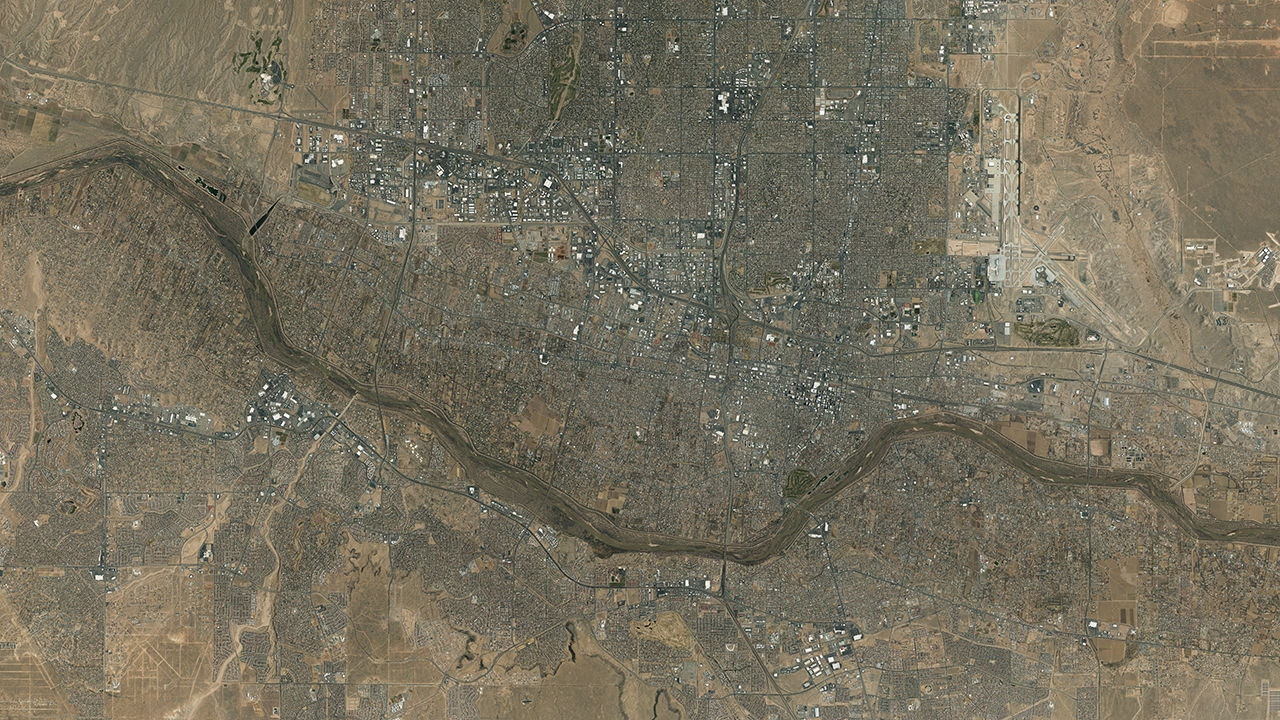 UNM's EDAC receives $700,000 grant to digitize historical aerial photos for web accessibility