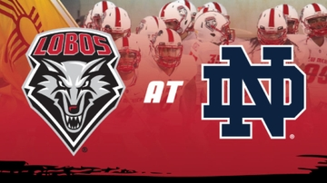 Lobos take on Irish in historic gridiron matchup