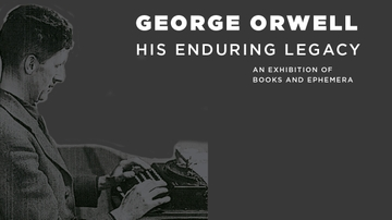 George Orwell exhibition opening at Zimmerman Library
