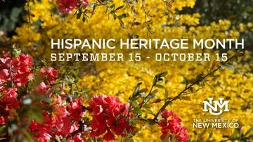 UNM recognizes Hispanic Heritage Month