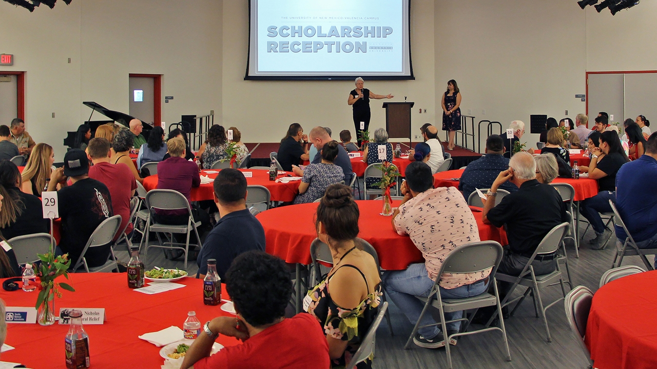 UNM Valencia Scholarship Reception