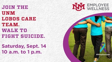 UNM to participate in 'Out of the Darkness Community Walk'