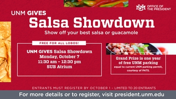 Salsa Showdown registration is open