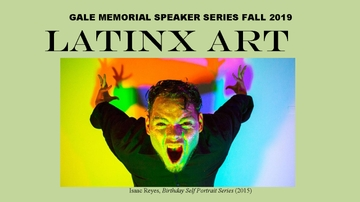 UNM's Department of Art hosts Fall 2019 Gale Memorial Speaker Series