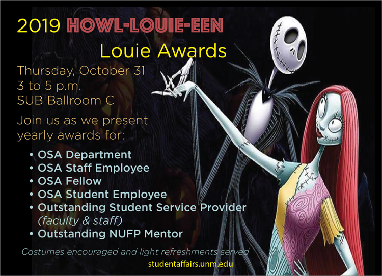 Louie Awards 2019 flyer