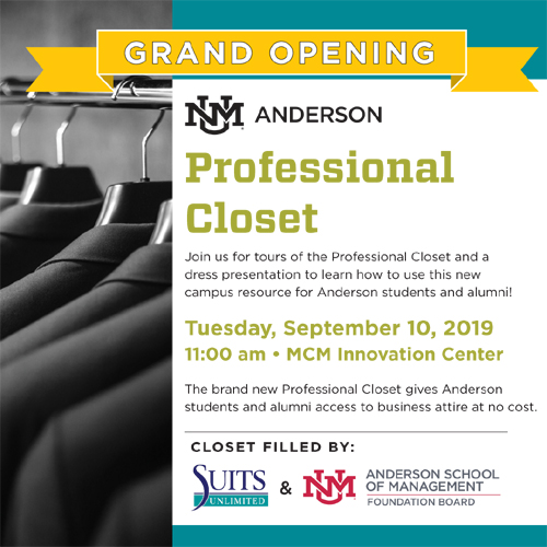 Professional Closet - Grand Opening