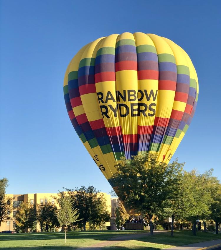 Balloon Fiesta on the horizon