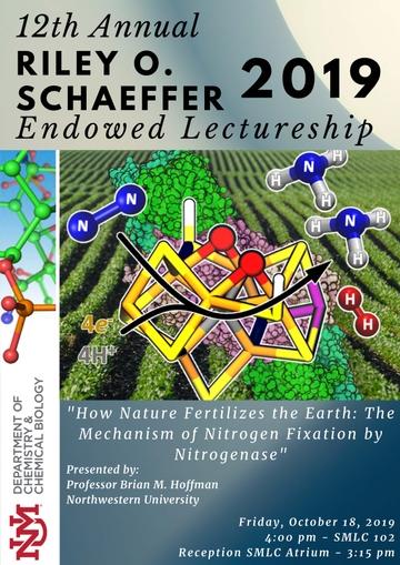 2019 Schaeffer Lecture program