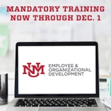 University-wide mandatory training deadline Dec. 1
