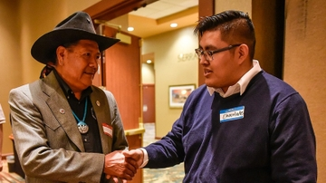 UNM's Center for Native American Health hosts student networking reception