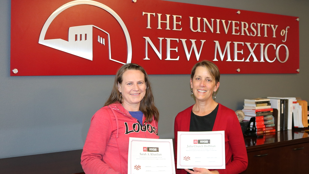 UNM Gives prizewinners 2019