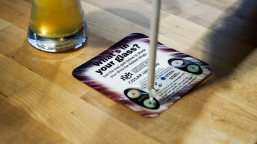 Drug detecting coasters offered to students at UNM