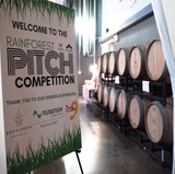 Students enter Rainforest Pitch Competition to test business ideas