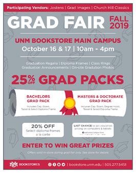 Fall 2019 Grad Fair