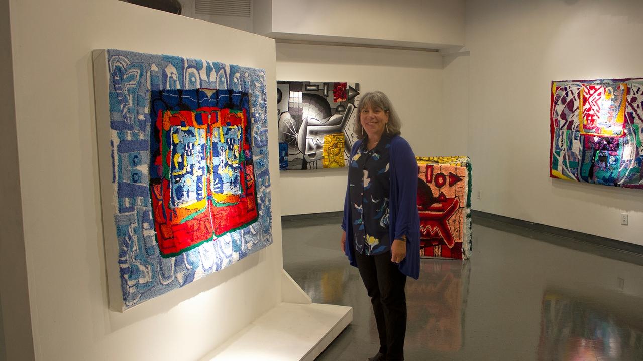 Interim Arts dean Regina Carlow