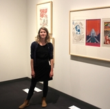 UNM student helps bring eye-popping new museum exhibition to life