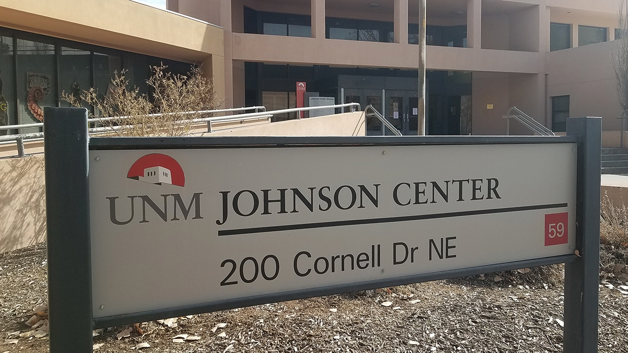 Johnson Center entrance