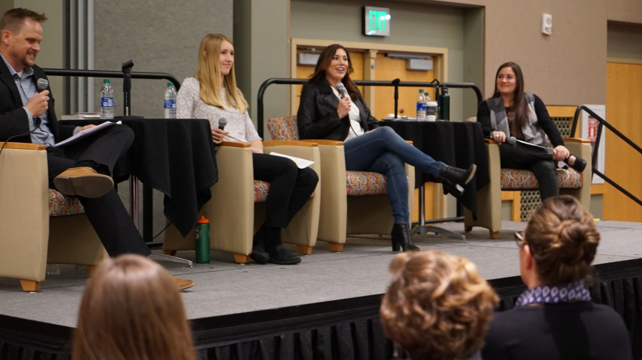 More than 600 people attend Hope Solo event