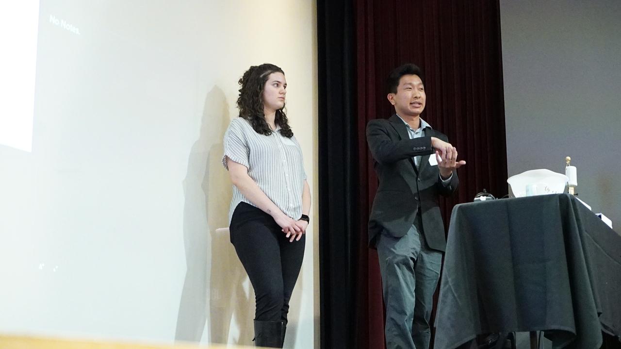 Students present final applications
