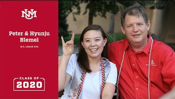 2020 Inspirational Lobo Grads | Peter and Hyunju Blemel