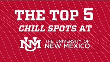 Campus Countdown | Top 5 Chill Spots at UNM