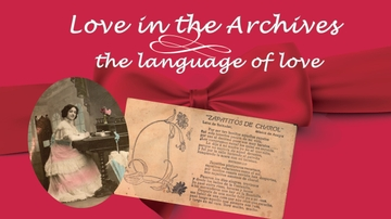 Love in the Archives: the language of love