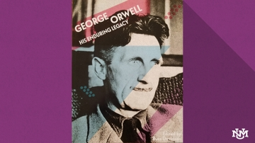 Zimmerman Library hosts George Orwell discussion