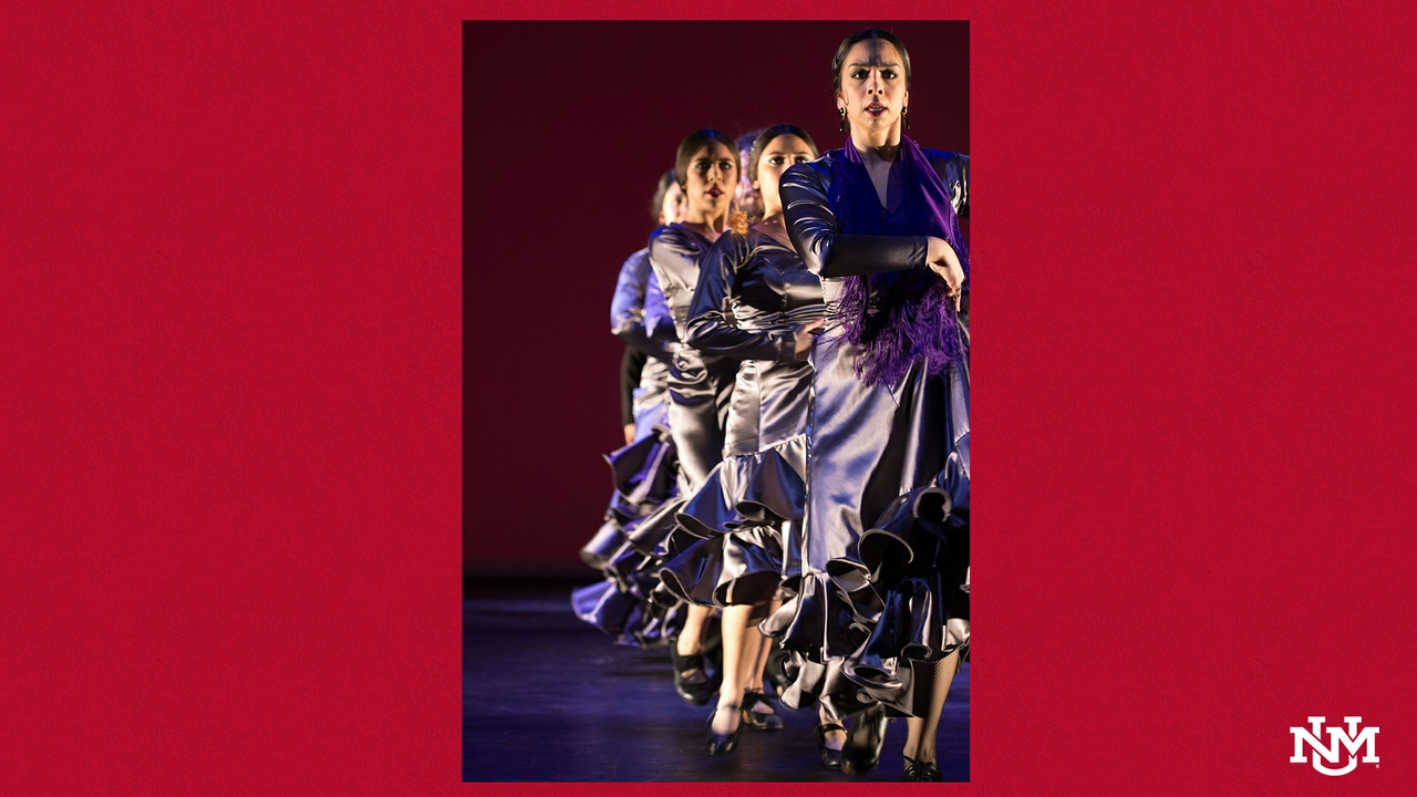 Faculty dance flamenco