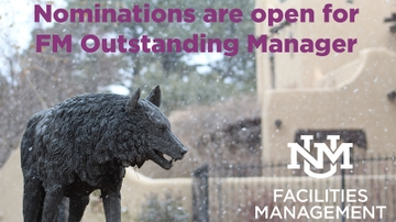 Facilities Management opens nominations for Outstanding Manager Award