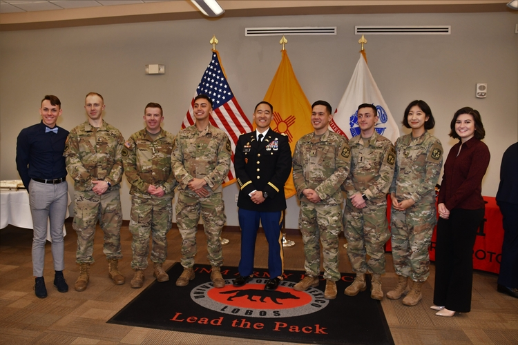 UNM Army ROTC honors Chae