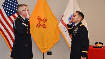 UNM Army ROTC major promoted to lieutenant colonel
