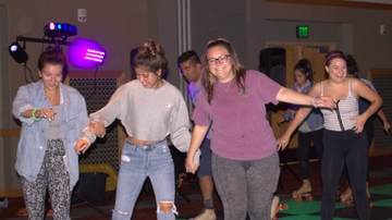 Students skate free at Neon Skate Down