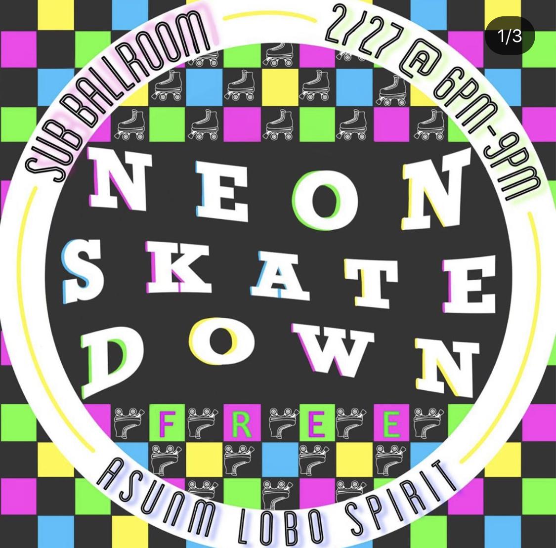 Skate Down flyer