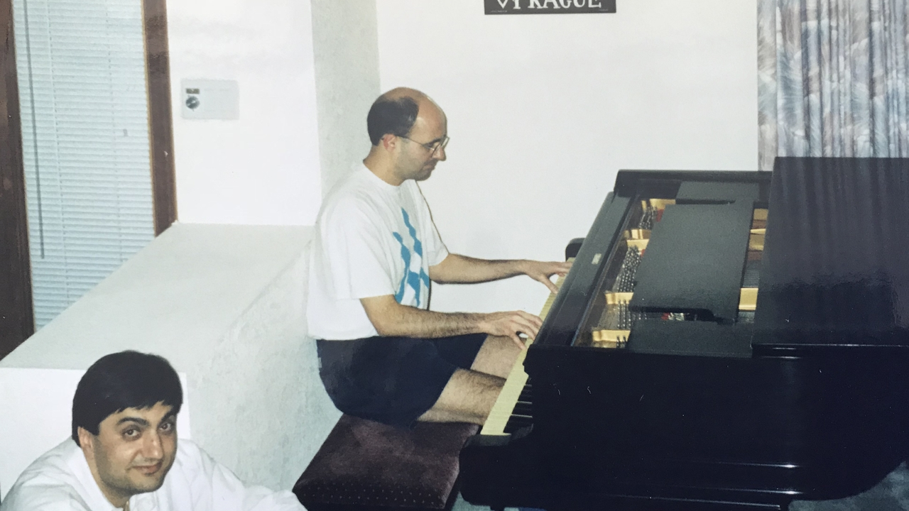 Schamiloglu thought seriously about being a professional musician, but chose engineering instead. However, he still enjoys playing piano in his spare time.