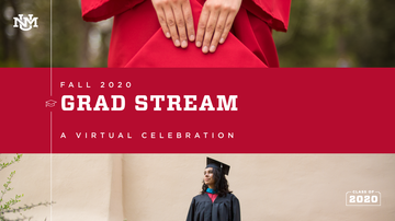 Be part of the Fall 2020 Lobo Grad Stream