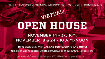 School of Engineering makes annual Open House a virtual event in November