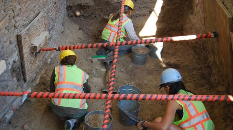 Excavating Room 28